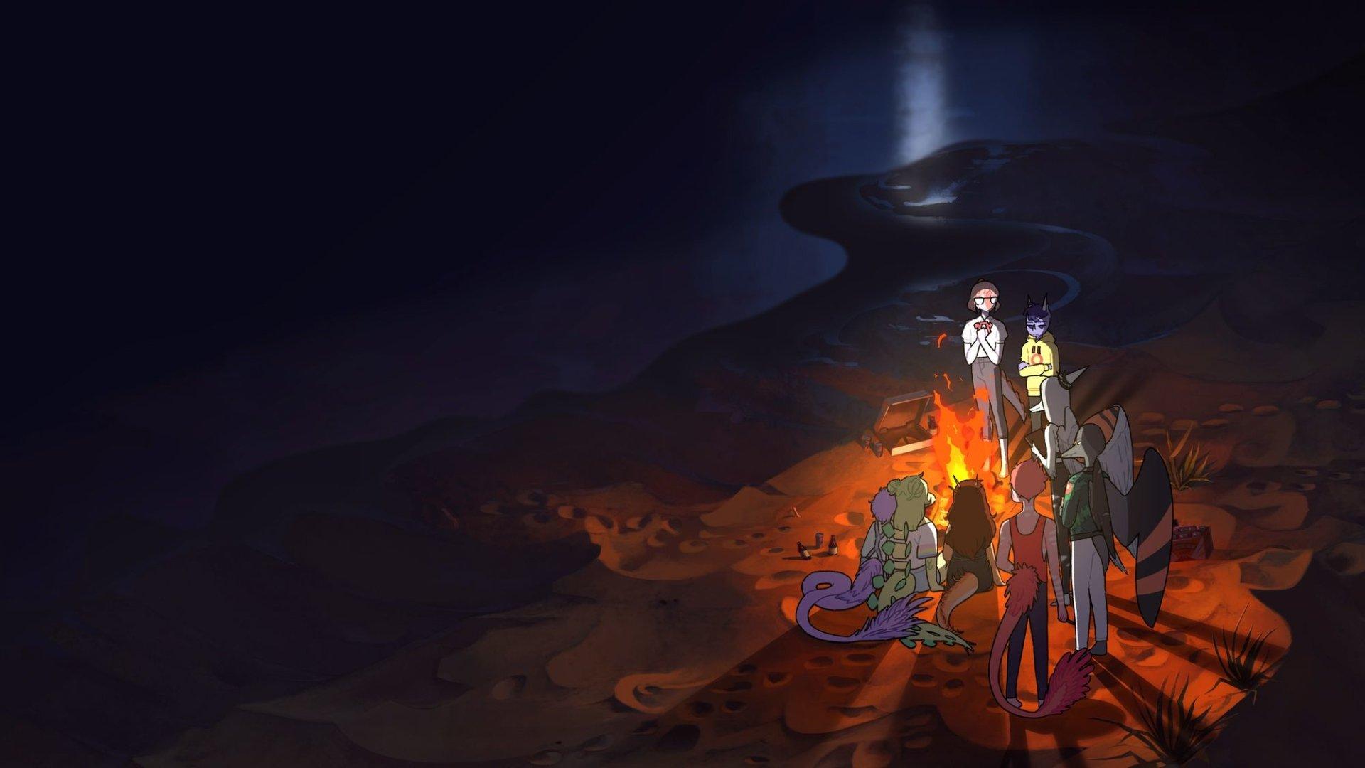 goodbye volcano high ps5 video game hd wallpaper 2366