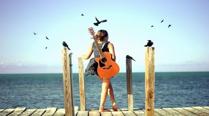 Guitar HD Wallpaper Background 2295
