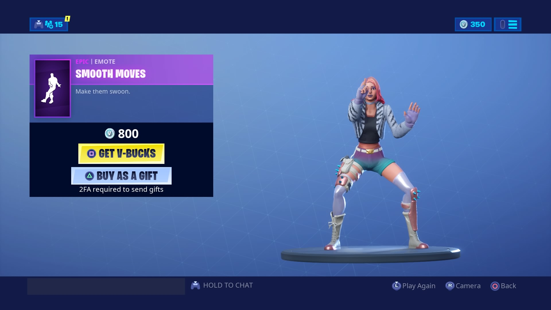 fortnite smooth moves emote hd wallpaper background 2304