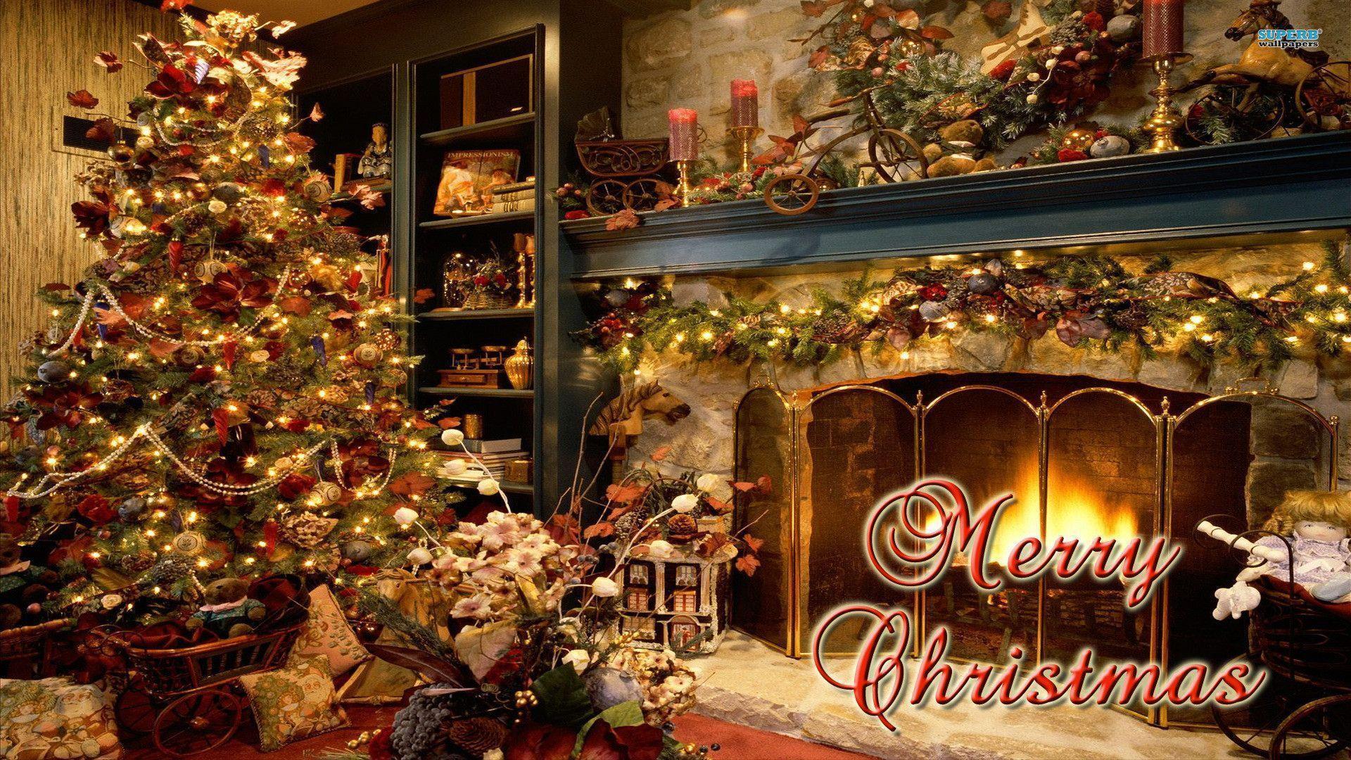 merry christmas hd wallpaper 2009