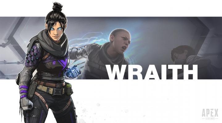 Apex Legends Wraith 4K Wallpaper 2123