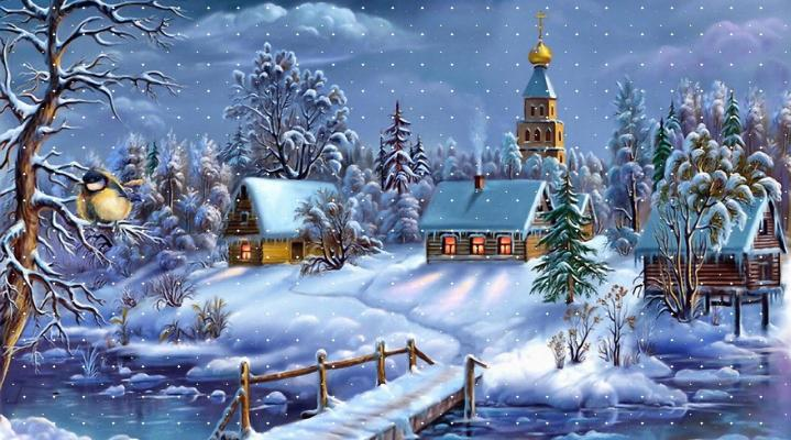 Christmas HD Wallpaper 2002