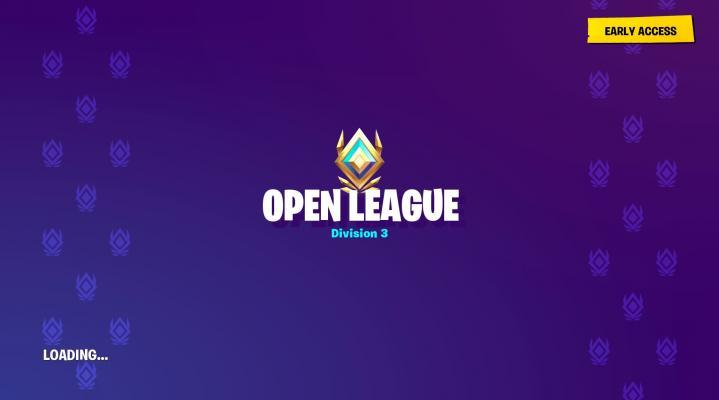 Fortnite Open League HD Wallpaper Background 2300