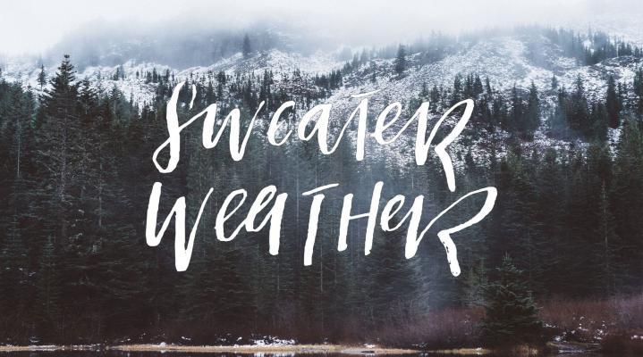 Sweater Weather HD Wallpaper 1986