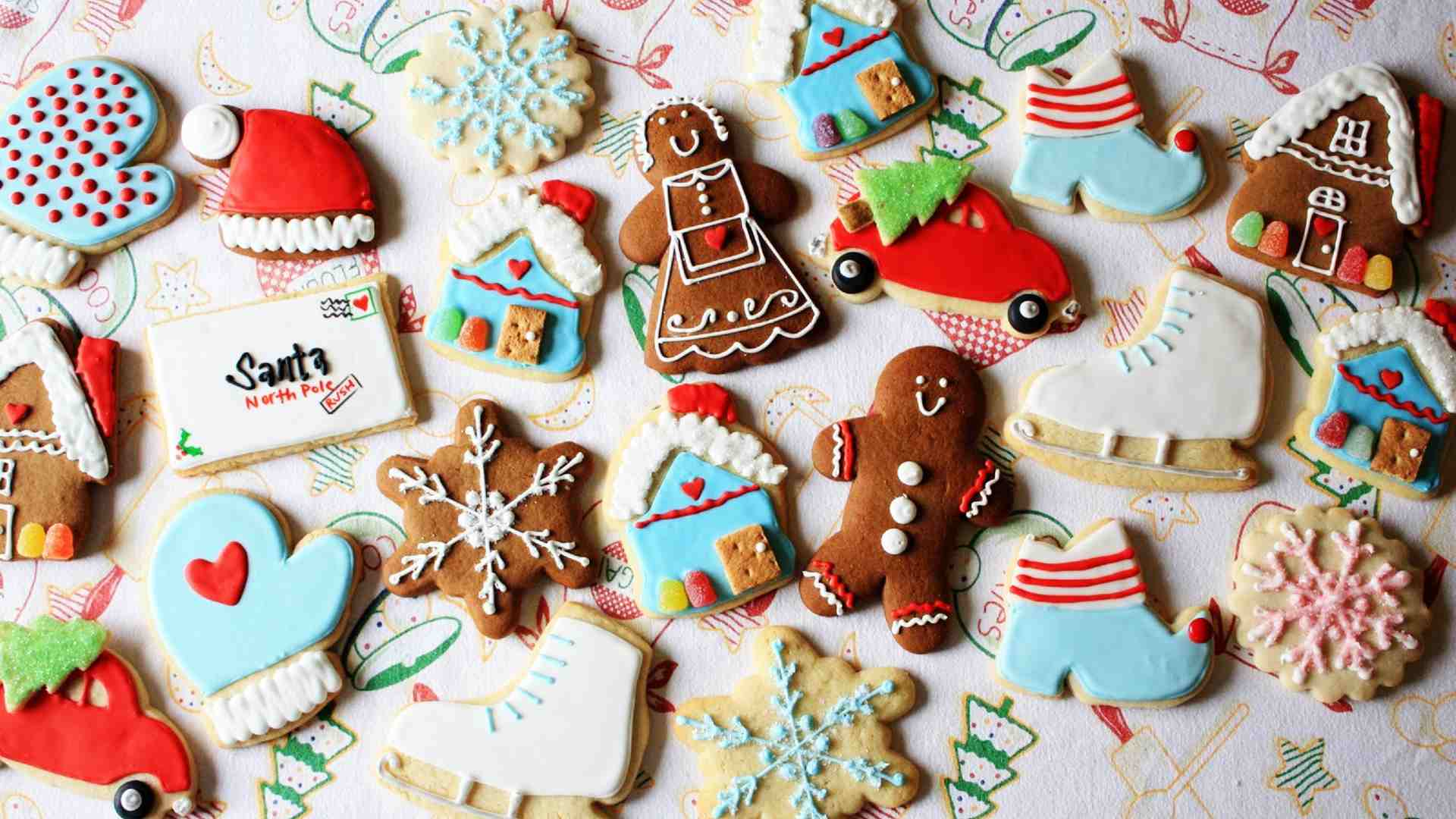 christmas cookies hd wallpaper 2028