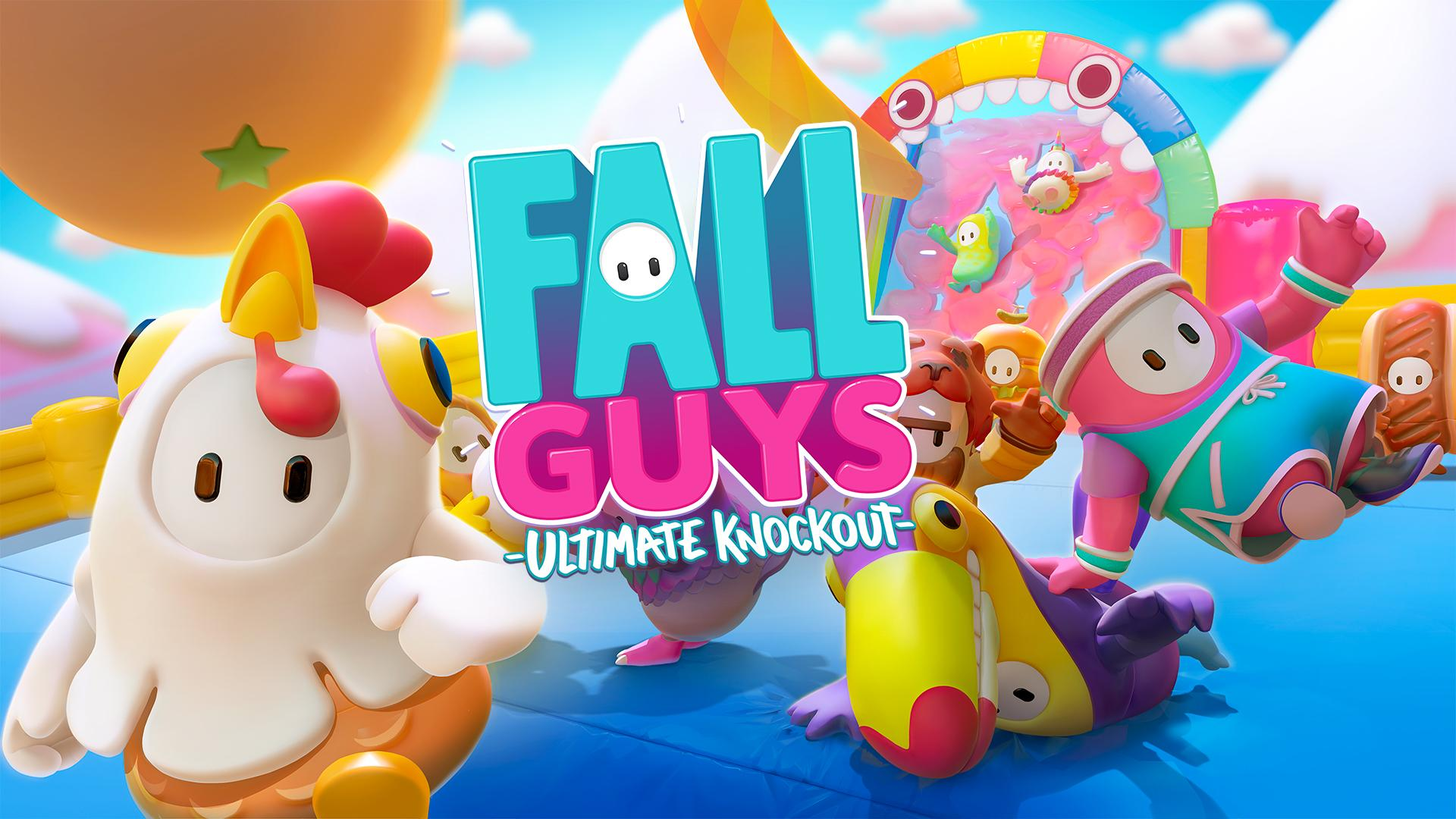 fall guys ultimate knockout 4k background wallpaper 2198