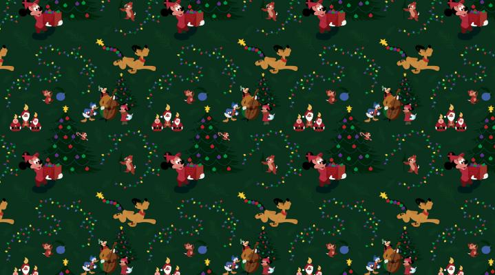 Christmas Pattern HD Wallpaper 2018