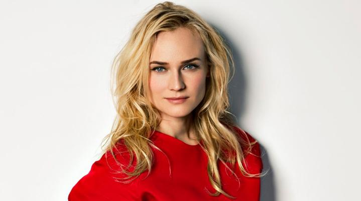 Diane Kruger Red Dress 4K Wallpaper 1918