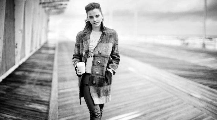 Emma Watson Cute 4K Wallpaper 2064