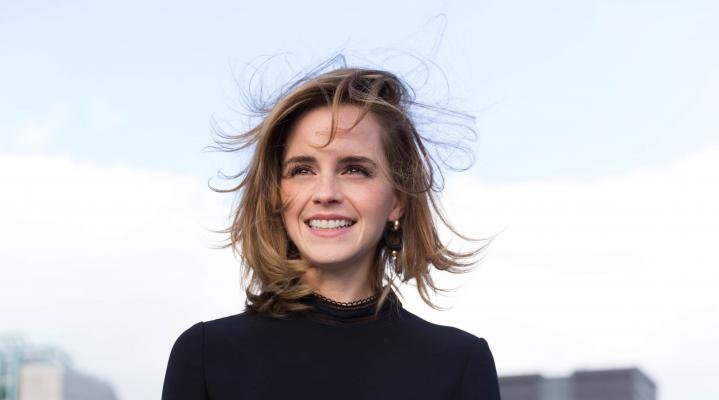 Emma Watson Cute 4K Wallpaper 2065