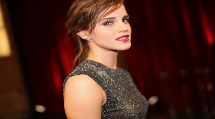 Emma Watson Oscars 4K Background Wallpaper 2058