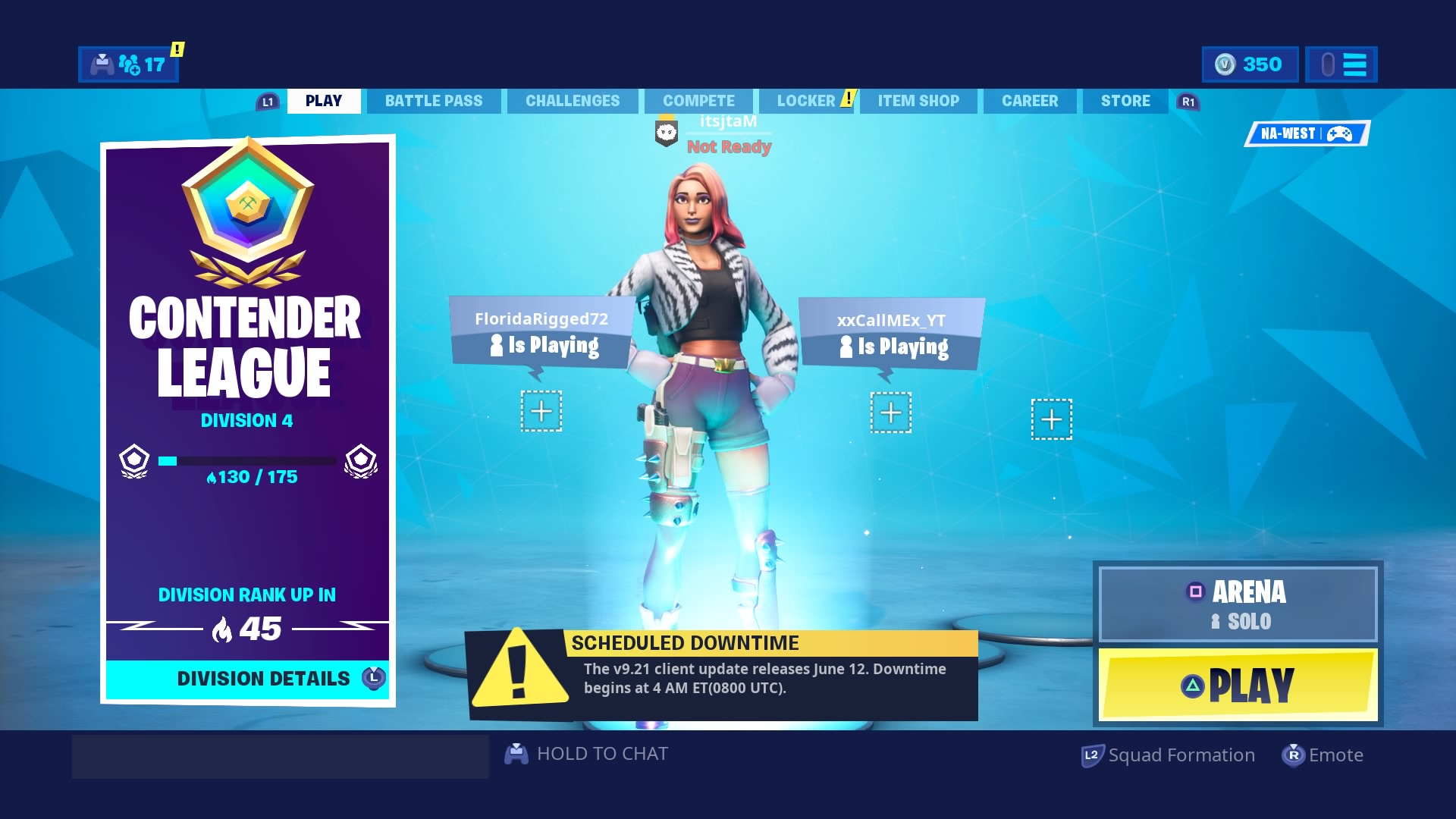 fortnite contender league hd wallpaper background 2308