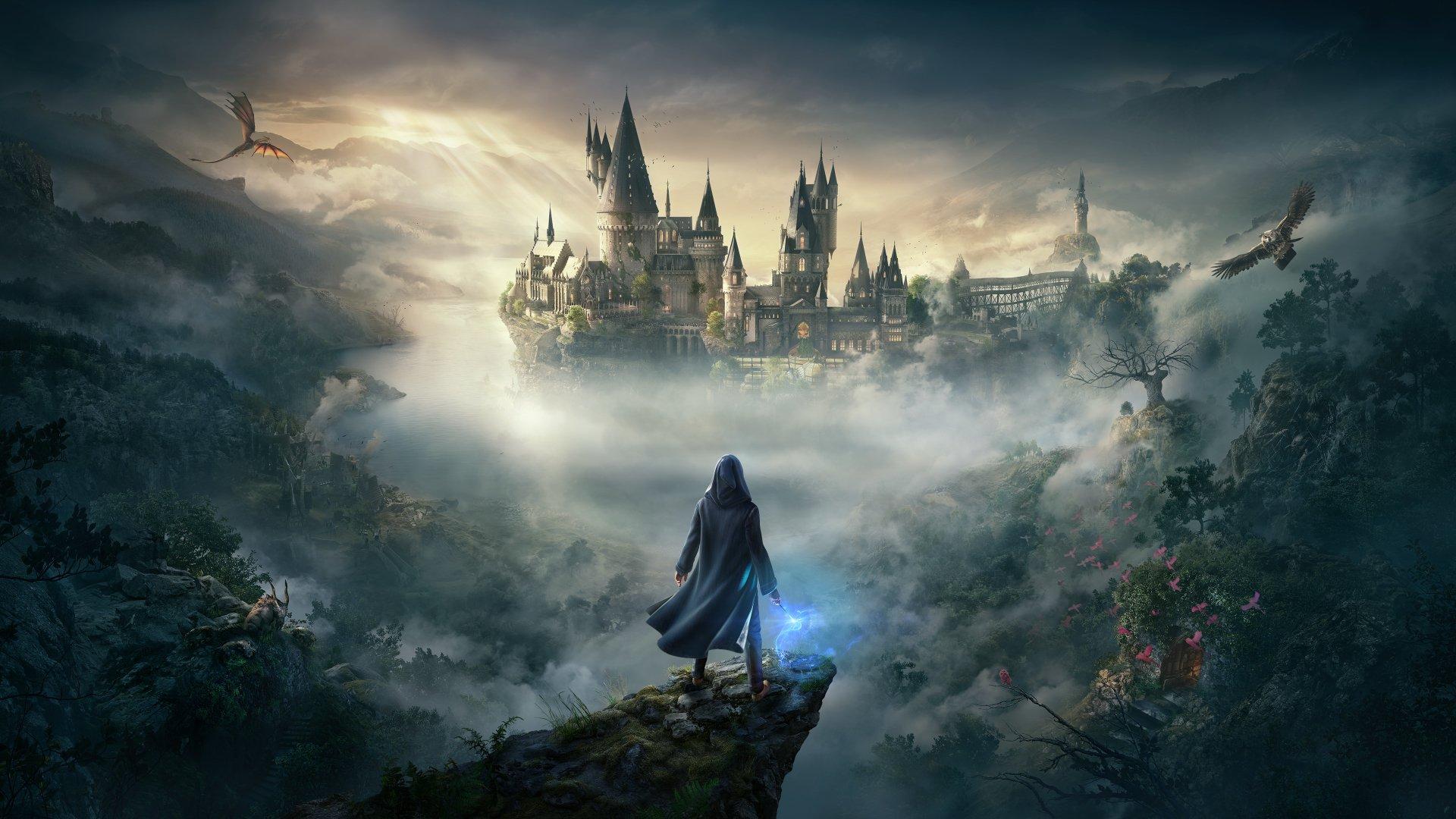 hogwarts legacy ps5 4k wallpaper background 2360