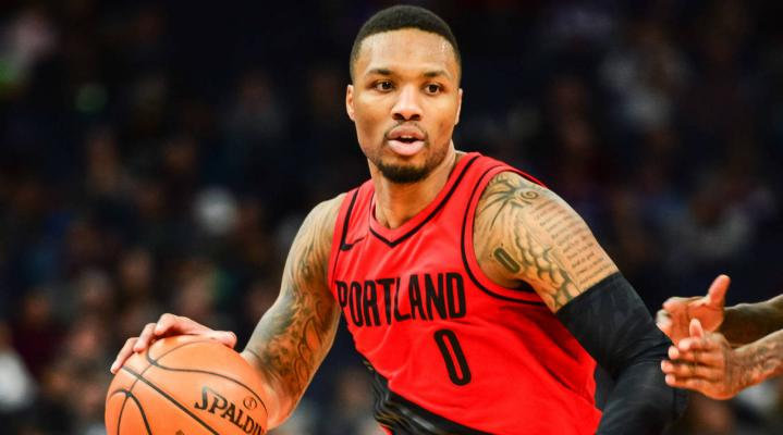 Damian Lillard 4K Wallpaper 1812