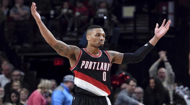 Damian Lillard Portland Trailblazers HD Wallpaper 1815