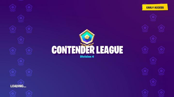 Fortnite Contender League HD Wallpaper Background 2309