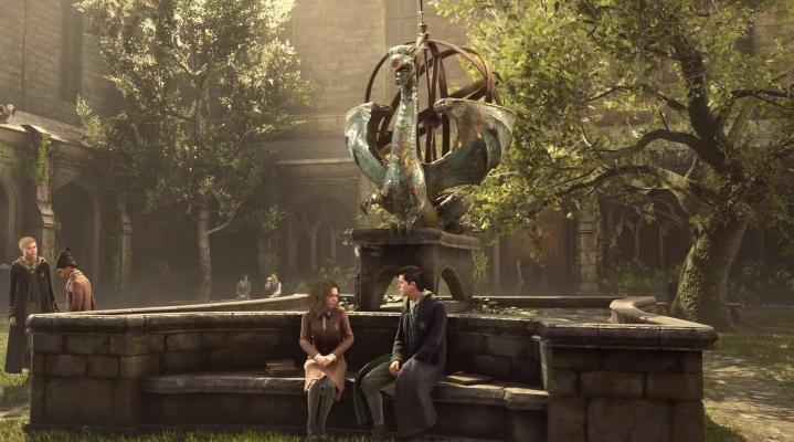 Hogwarts Legacy PS5 4K Wallpaper Background 2357