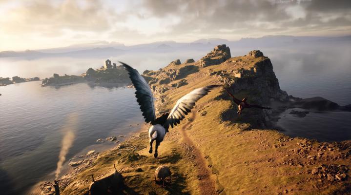 Hogwarts Legacy PS5 HD Wallpaper Background 2355