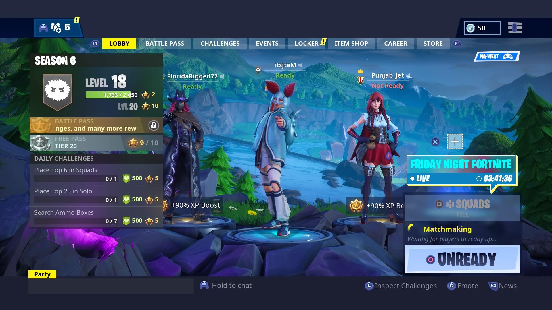 fortnite season 6 lobby screen 4k wallpaper 2620