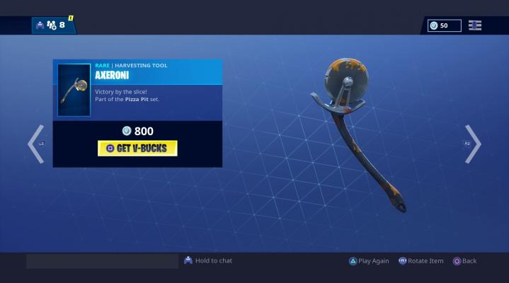 Fortnite Axeroni  Rare Harvesting Tool HD Wallpaper 2625