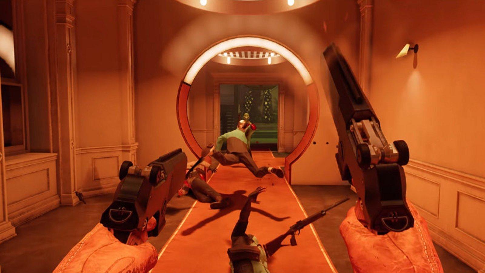 deathloop action video game hd wallpaper 2401
