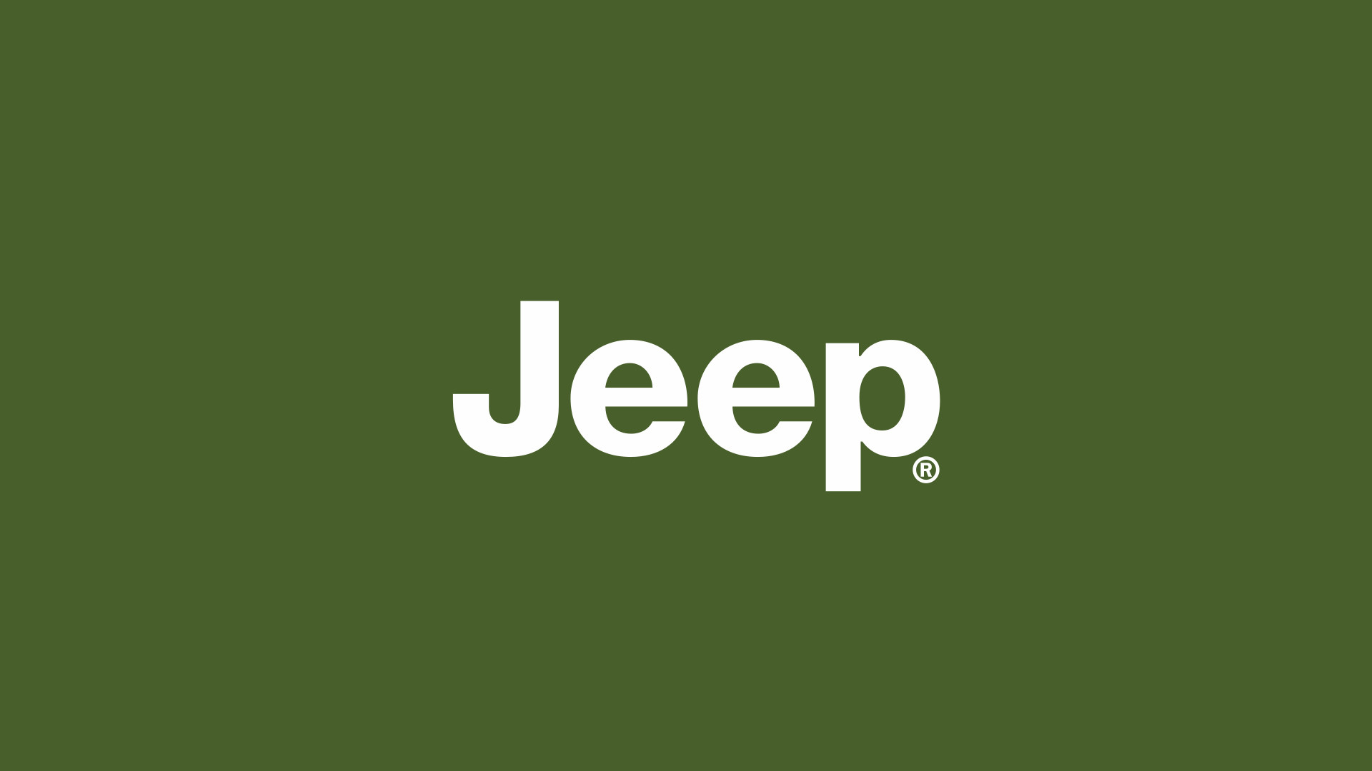 green jeep logo hd wallpaper 2428