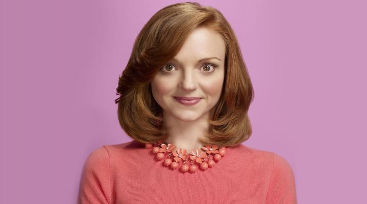 Jayma Mays Cute Actress 4K Wallpaper 2424