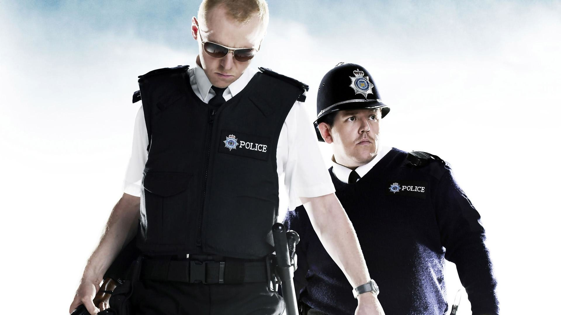 hot fuzz movie 4k wallpaper 2385