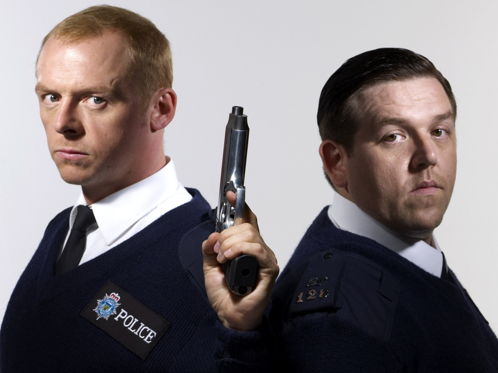 hot fuzz movie hd wallpaper 2379