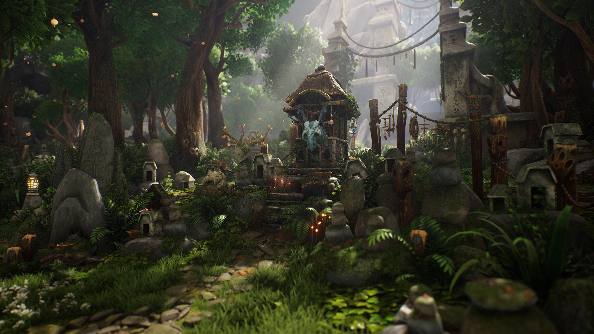 kena bridge of spirits video game hd wallpaper 2577