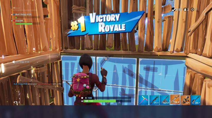 Fortnite Victory Royale 4K Wallpaper 2584