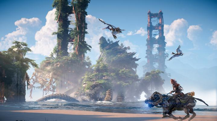 Horizon Forbidden West HD Wallpaper Background 2389