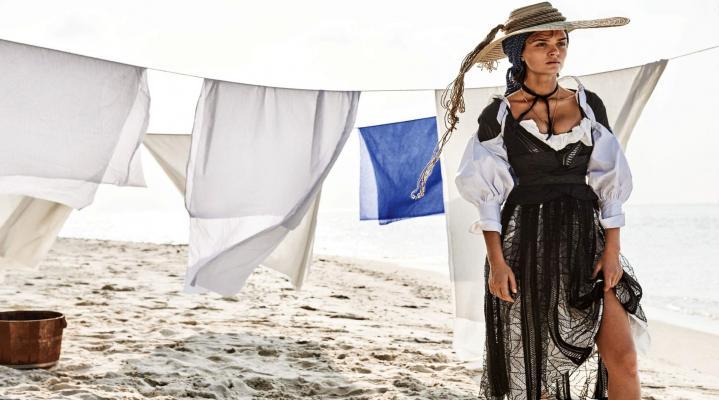 Josephine Skriver Fashion Model 4K Wallpaper 2460